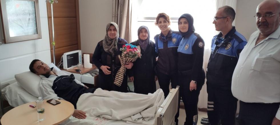 Barış Pınarı Gazilerine Toplum Destekli Polis Ziyareti