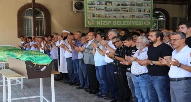 Belçika'da öldürülen Türk, Nizip'te toprağa verildi