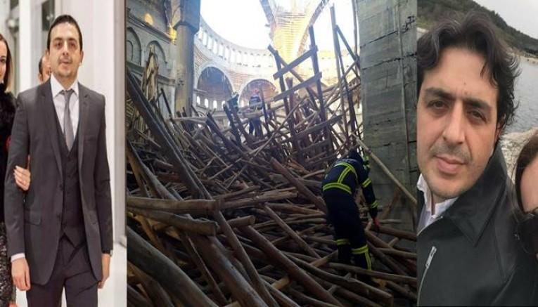 Cami Göçüğü Altında Kalkan Mühendise Halen Ulaşılamadı