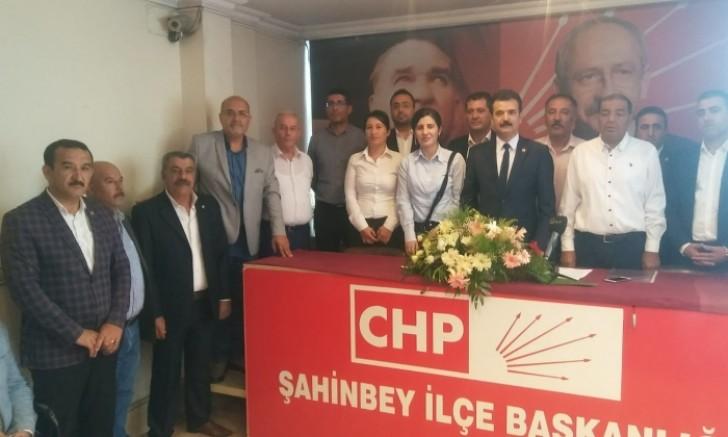 CHP'de Şahinbey'de Zeki Gürsel Dönemi Başladı