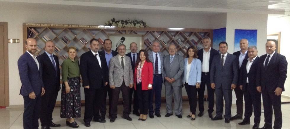 CHP Heyetinden Kent Konseyine Hayırlı Olsun Ziyareti