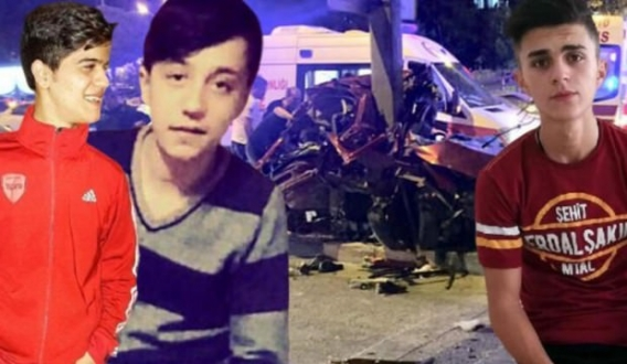 Feci Kaza, 3 Arkadaş Hayatını Kaybetti