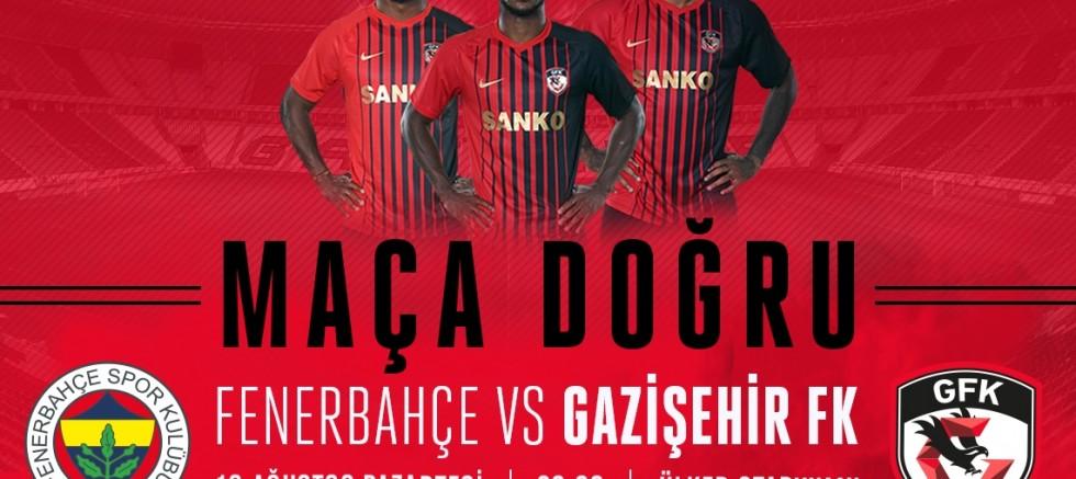 Fenerbahçe Maçı Saat 20.00'da Ülker Stadı'nda