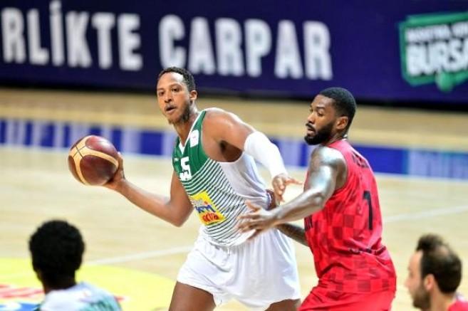 Frutti Extra Bursaspor - Gaziantep Basketbol: 74-86