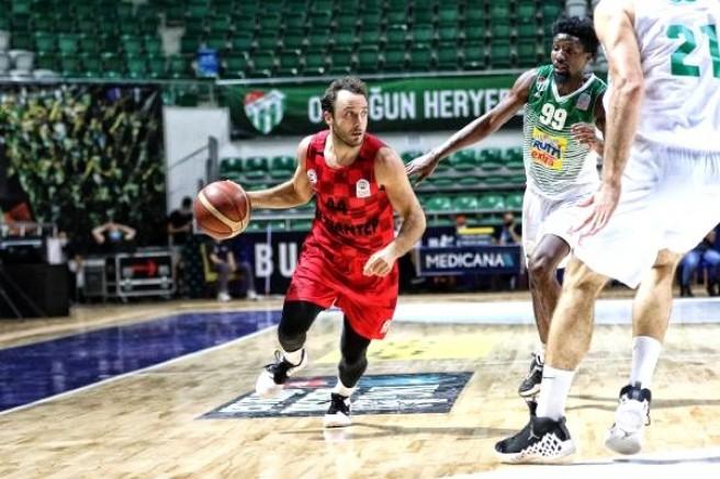 Frutti Extra Bursaspor - Gaziantep Basketbol: 78-90