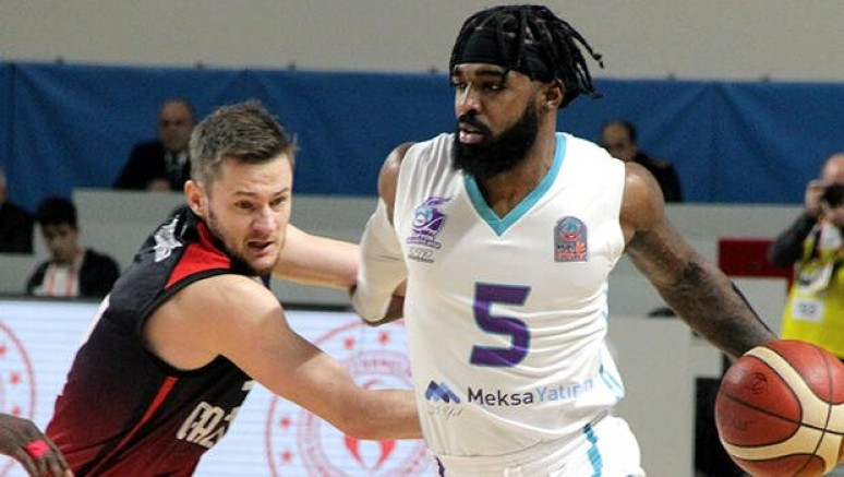 Gaziantep Basketbol, Meksa Yatırım Afyon Belediyespor 92-95 Yendi
