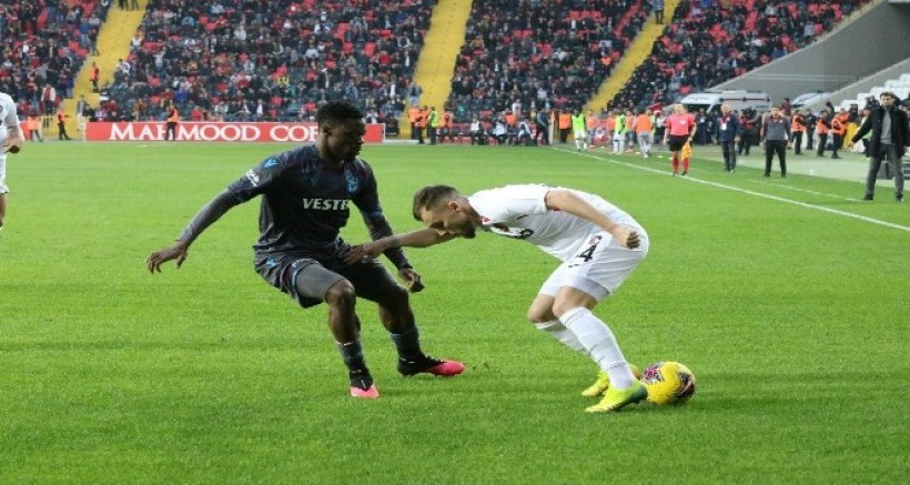 Gaziantep FK: 1 - Trabzonspor: 1