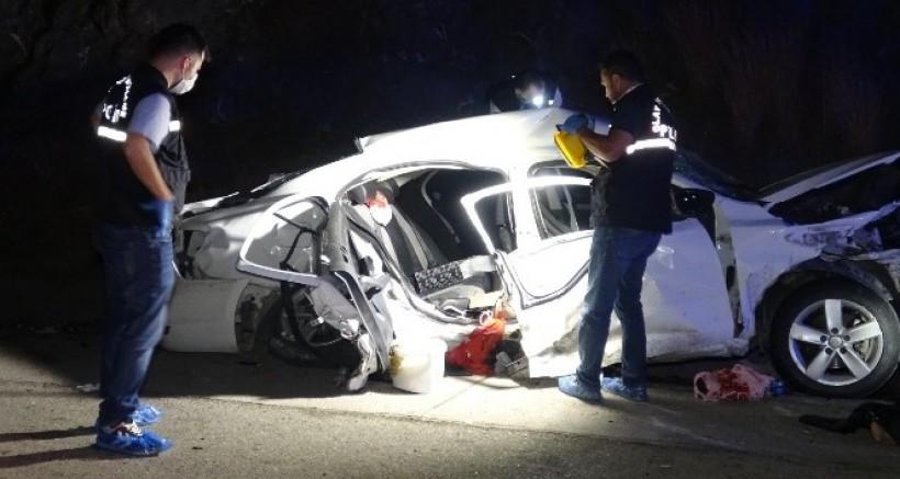 Gaziantep Otoyolunda Katliam Gibi Kaza, 4 Ölü 4 Yaralı