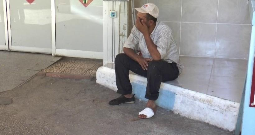Gaziantep'te acemi kasaplar ellerini, kollarını kesti