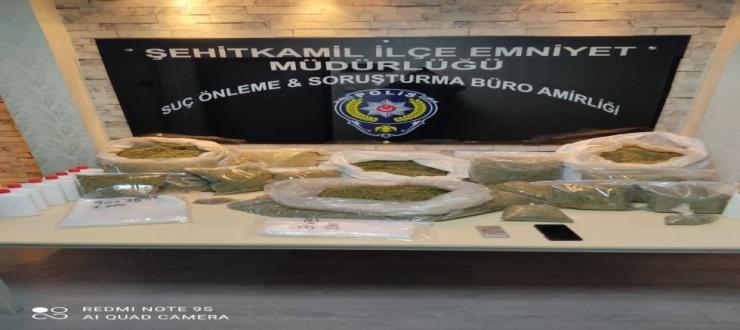GAZİANTEP'TE BONZAİ OPERASYONU