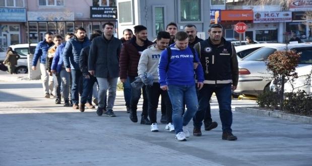 Gaziantep'te FETÖ Operasyonu 10 Kişi Gözaltına Alındı