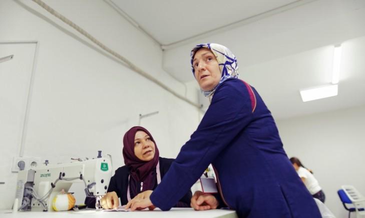Gaziantep'te Kurulan SADA Kadın Kooperatifi 252 bin maske üretecek