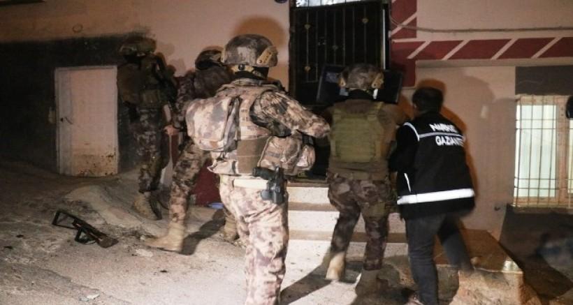 Gaziantep'te Şafak Vakti Nefes Kesen Uyuşturucu Operasyonu