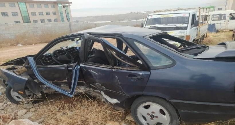 Gaziantep'te Trafik Kazası, 1 Kişi Öldü, 4 Kişi Yaralandı