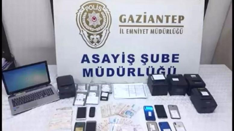 Gaziantep'te Yasa Dışı Bahiscilere Şok Operasyon, 12 Kişi Gözaltına Alındı