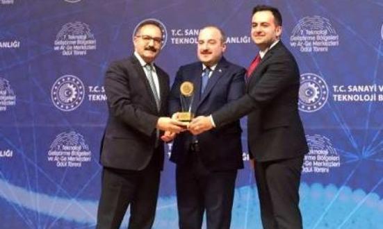 Gaziantep Teknopark'a 2.'ilk Ödülü