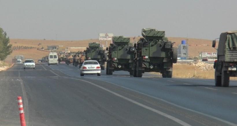 Gaziantep'ten 150 Araçlık Askeri Konvoy Yola Çıktı