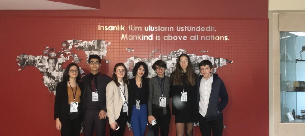 GKV Cemil Alevli Koleji Öğrencileri Koç EYP'20'ye Katıldı