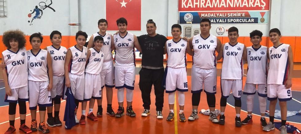 GKV Yıldız Erkek Basketbol  Takımı Türkiye Yarı  Finallerinde