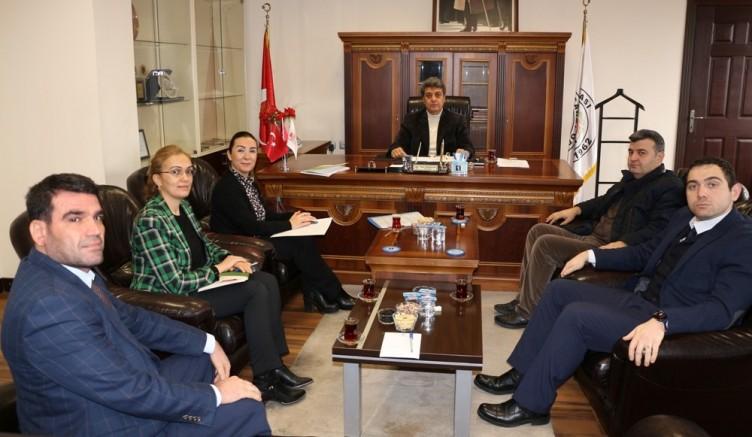 GTO'dan NTO Meclis Başkanı Karabacak'a Ziyaret