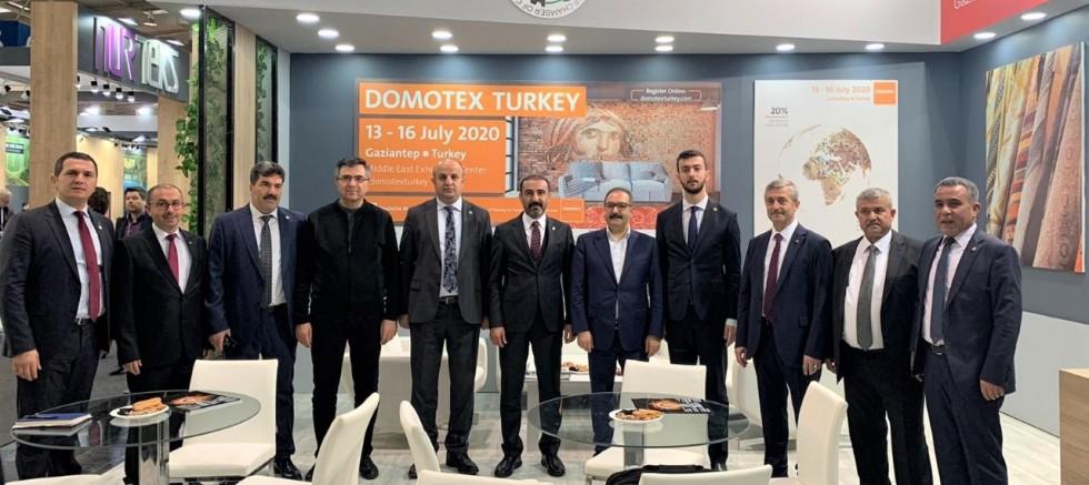 """GTO, """"DOMOTEX TURKEY"""" TANITIMI İÇİN HANNOVER'DE"""