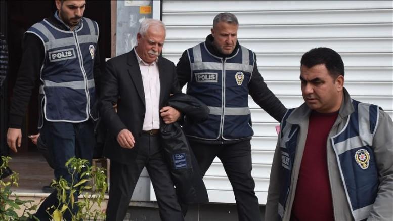 HDP Gaziantep İl Başkanı Müslüm Kılıç ve 12 Zanlı Tutuklandı