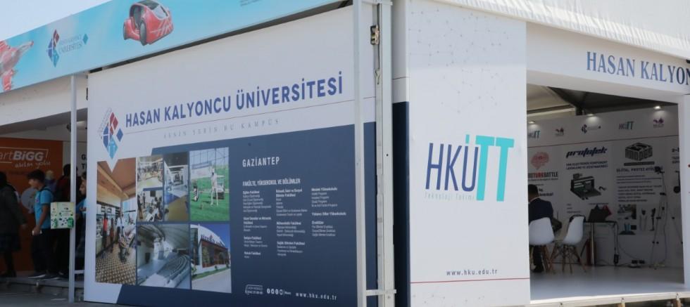 HKÜ Türkiye'nin En Büyük Teknoloji Festivalinde