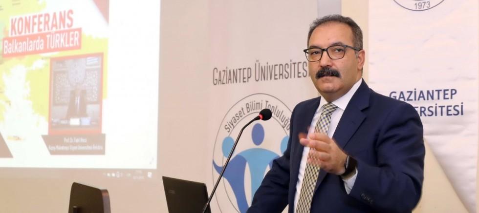 Kuzey Makedonya Vizyon Üniversitesi Rektörü Prof. Dr. Fadıl Hoca, GAÜN'de