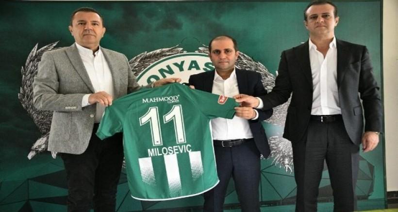 Mahmood Coffee Konyaspor'a sırt forma sponsoru oldu