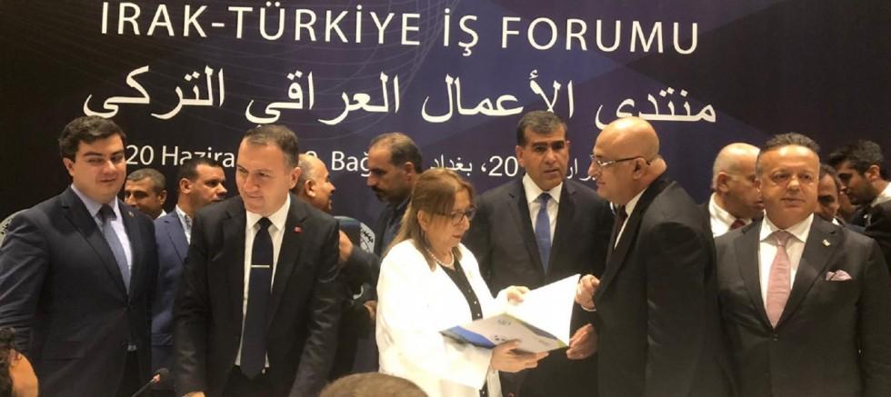 Mahsum Altunkaya Bağdat'ta Türkiye-Irak İş Forumu'nda