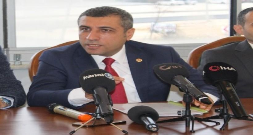 MHP Milletvekili Taşdoğan Değerlendirme Toplantısı Yaptı