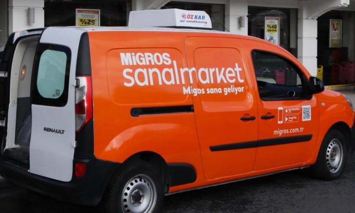 Migros'tan önemli karar: Evlere servis başladı
