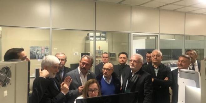 Milletvekili Erdoğan, İtalya'da Türk İşletmelerini Gezdi