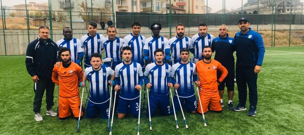 ŞAHİNBEY AMPUTE DEPLASMANDA GALİP GELDİ  3-0