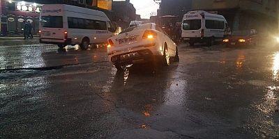Gaziantep'i Sel Vurdu