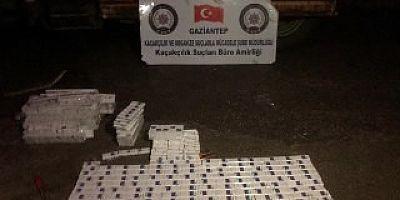 Gaziantep'te 660 paket kaçak sigara ele geçirildi