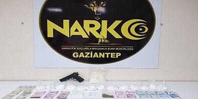 Gaziantep'te uyuşturucu operasyonu: 8 gözaltı