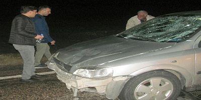 Müzisyen kazada canverdi