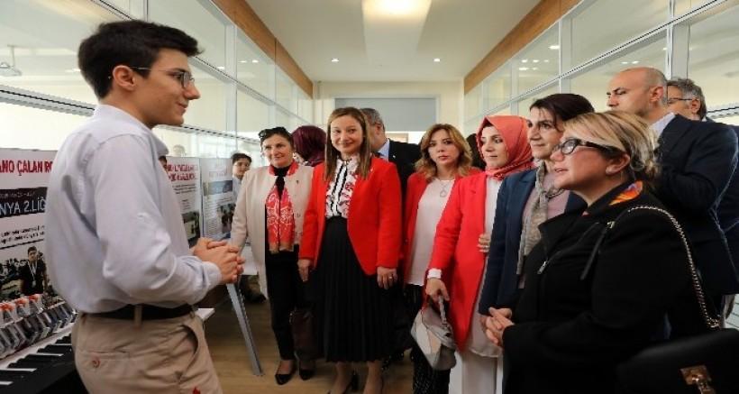 TBMM Kadın Erkek Fırsat Eşitliği Komisyonu Sanko Okullarında