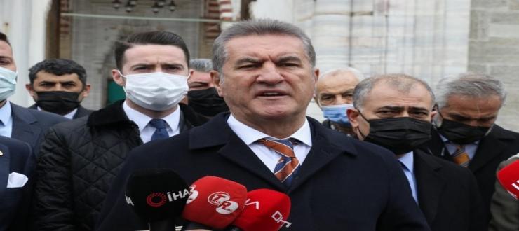 TDP Genel Başkanı Mustafa Sarıgül'den 103 Amiral Açıklaması