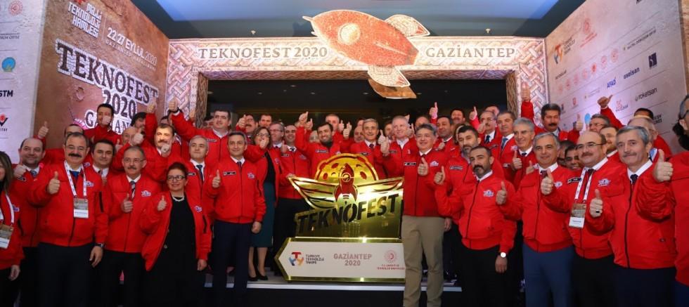 TEKNOFEST 2020 TANITIM TOPLANTISI GAZİANTEP'TE YAPILDI