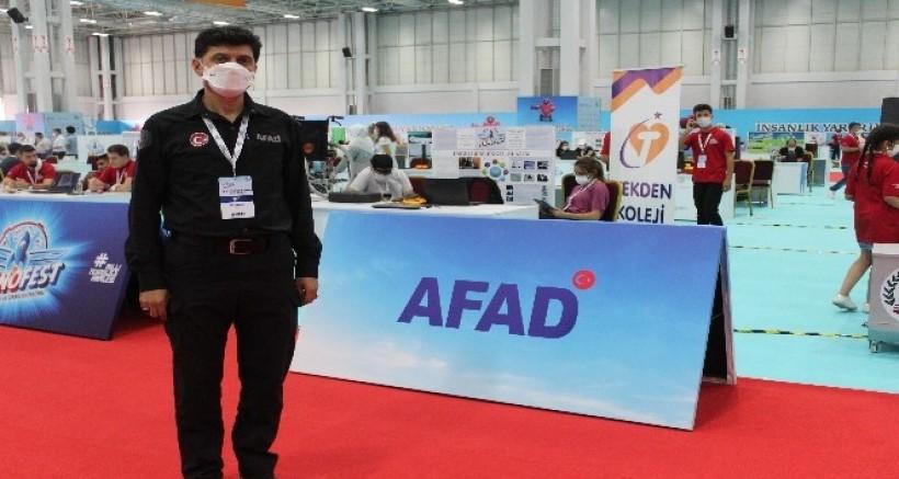 Teknofest'te İnsanlık Yararına Teknoloji Üretimine AFAD Destek Veriyor