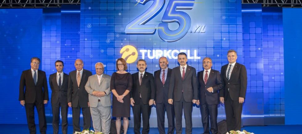 Turkcell'den Türkiye'ye 25 yılda 50 milyar TL'lik yatırım