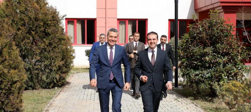 YASİN TEPE GAÜN'DE OKUL İŞBİRLİĞİ TOPLANTISI'NA KATILDI