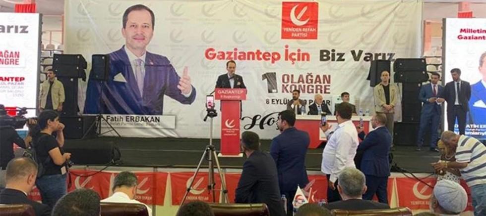 Yeniden Refah Partisi Genel Başkanı Fatih Erbakan Gaziantep'te Neler Konuştu ?